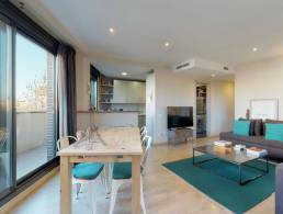 Picture Apartment with Terrace and Pool in Diagonal Mar, Barcelona
