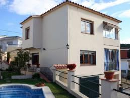 Picture Villa with Pool and beautiful view in Mas Romeu, Lloret de Mar, Girona