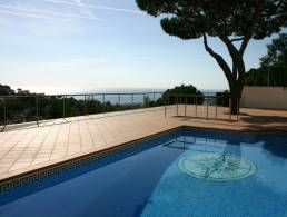 Picture Villa with Pool and Sea View in Roca Grossa, Lloret de Mar, Girona