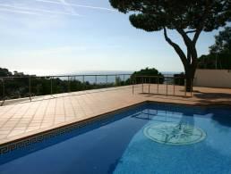 Villa with Pool and Sea View in Roca Grossa, Lloret de Mar,