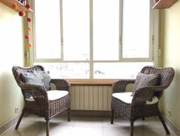 Piso con techos altos y 3 habitaciones en buena ubicación en Poblenou,