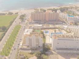 Spacious flat with big terrace and sea views in Sa Coma,