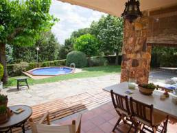 Picture Bright house with great garden and ambience in Can Vila ? Sant Pere de Vilamajor, Barcelona