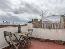 Picture Penthouse apartment with terrace in a suburb of Barcelona , Barcelona