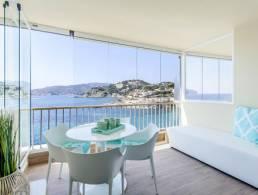 Picture Costa de la Calma - piso con altas calidades, vistas fantásticas y piscina, Baleares