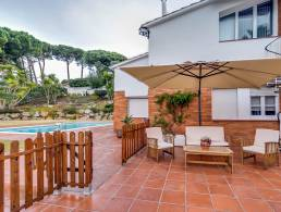 Picture Villa with sea view and pool in Arenys de Mint, Barcelona