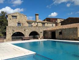 Alt Emporda: 18th century restored Catalan farmhouse,