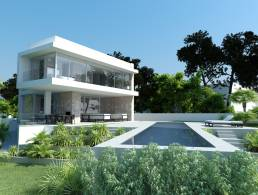 Picture Newly built! Luxury villa in first sea line in Port Adriano, Baleares