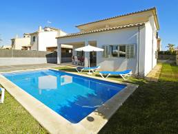 Picture Einfamilienhaus mit Pool in Sa Rapita, Baleares
