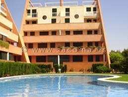 Ground floor flat with direct access to the pool in Sa Coma,